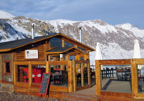 Farellones is a good base to ski at 3 Chile ski resorts