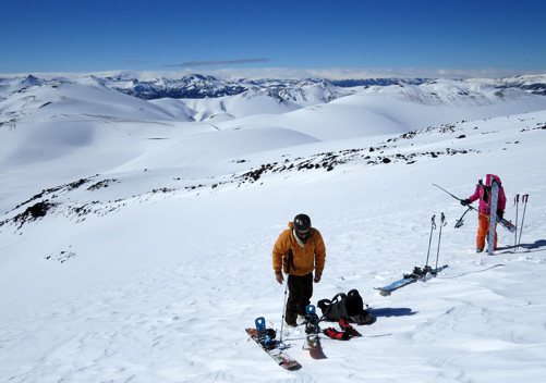 Guided alpine touring with the hotel activity centre