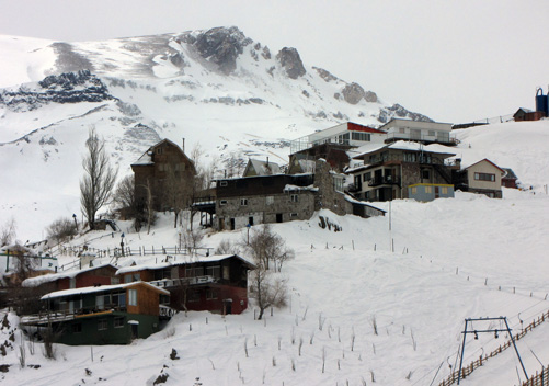 A few of the lodgings are ski-in ski-out