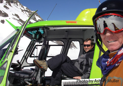 Chile Heli Skiing