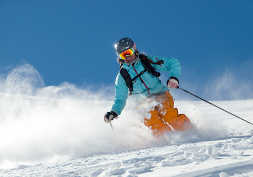 Powder Skiing La Parva Chile