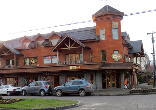 The town of Pucon has a great vibe