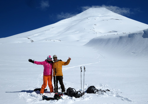 Corralco on Lonquimay Volcano is great for powder hounds