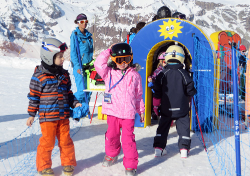 Valle Nevado is a great family resort