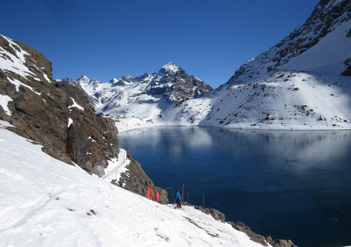 The Lake Run at Portillo Ski Resort