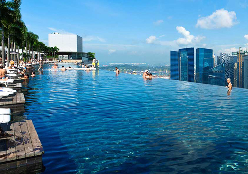 A fine day in Singapore   Photo: Marina Bay Sands