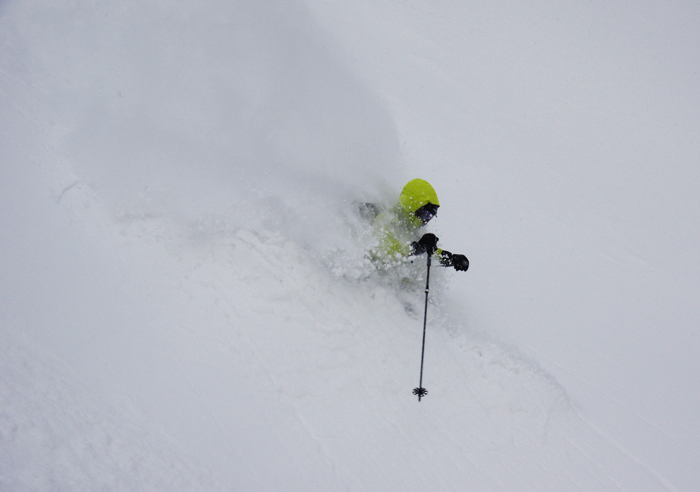 Oh and did we mention the powder!