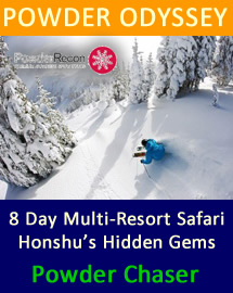 Powder Odyssey - chase the powder in Northern Honshu