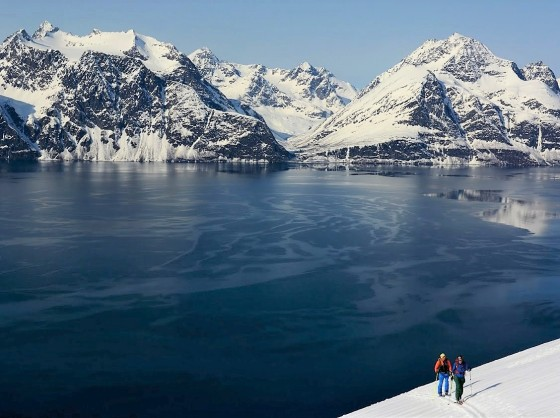 Lyngen Alps Norway Ski & Sail Tour - Sherpas Ride