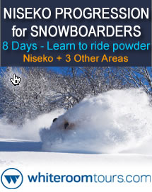 Niseko Powder Progression Tour for Snowboarders