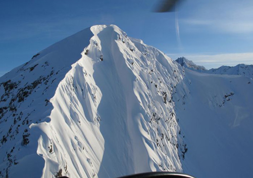 More Super Steep Alaska Heli Ski Terrain