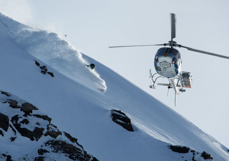Chugach Powder Guides Heli Skiing. Image: Adam Clarke