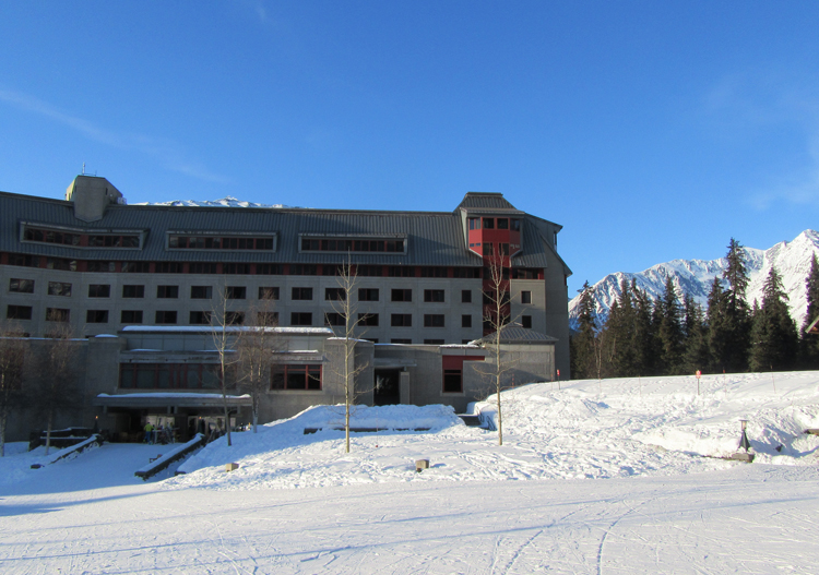 Hotel Alyeska is ski-in ski-out