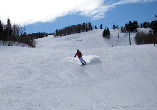 Buttermilk ski terrain