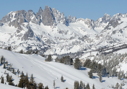 Mammoth: rated best overall CA ski resort by Powderhounds.com