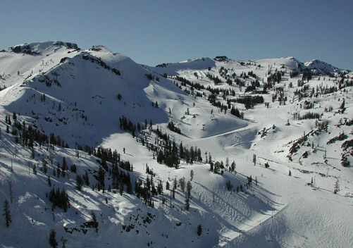 Squaw Valley has the best overall terrain