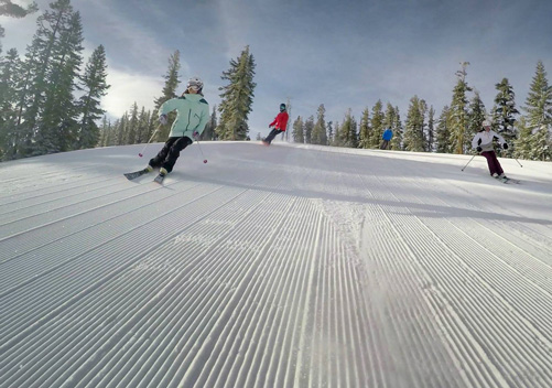Northstar California has great intermediate terrain
