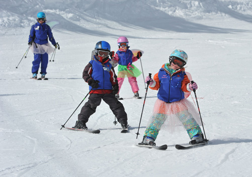 Mammoth: best ski resort in California for families