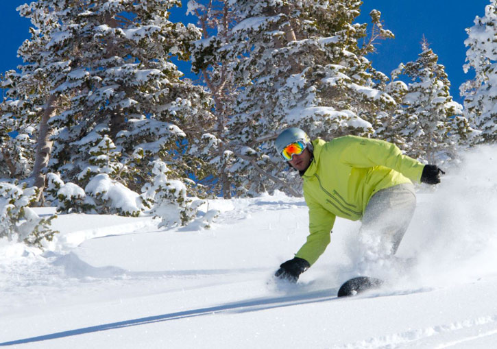 Park City cat skiing has great powder