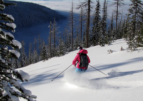 Selkirk Powder Company Cat Skiing