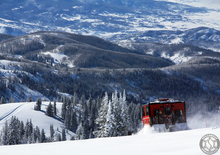 Steamboat Powdercats - operate 3 snowcats each day servicing 3 ability levels