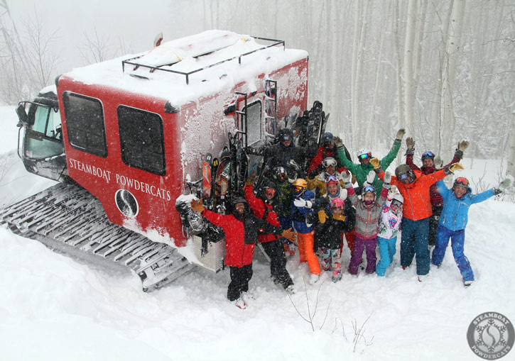 Steamboat Powdercats is a first-class operation through and through