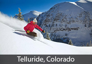 Third Best Colorado Resort for Powderhounds: Telluride