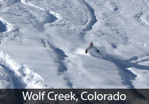 Second Best Colorado Resort for Powderhounds: Wolf Creek