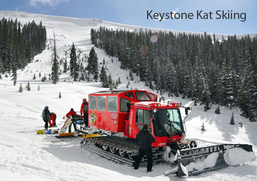 Cat Skiing Colorado - Keystone Adventure Tours