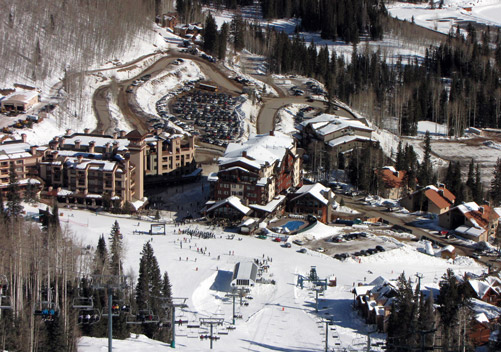 Good options for ski-in ski-out lodging
