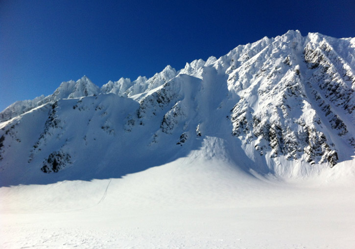 Black Ops Valdez Heliskiing Alaska - with over 2,500 square miles of terrain, the options are endless