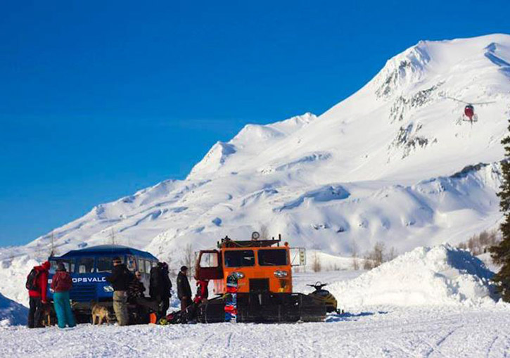 Black Ops Valdez Heliskiing Alaska also has a substantial cat skiing operation