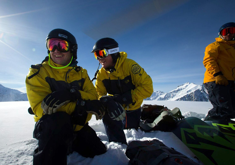 Chugach Powder Guides - these guides love their jobs - photo credit Adam Clarke