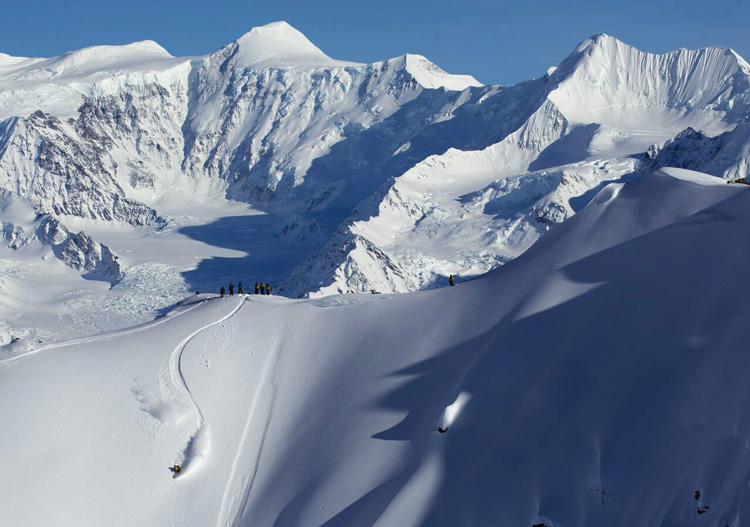 Chugach Powder Guides - one of thousands of launching pads - photo credit Adam Clarke