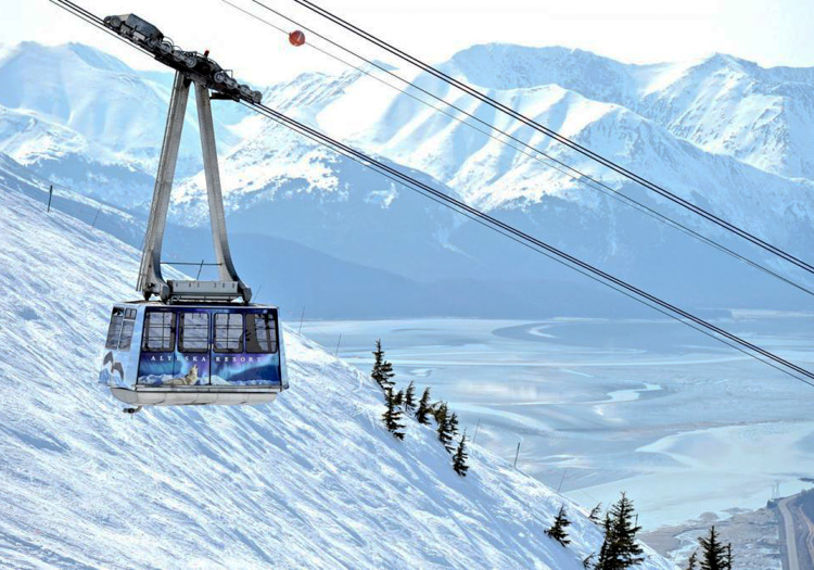 Chugach Powder Guides - and there is also Alyeska ski resort - photo credit Adam Clarke