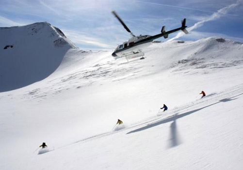 Colorado Heli Skiing Telluride