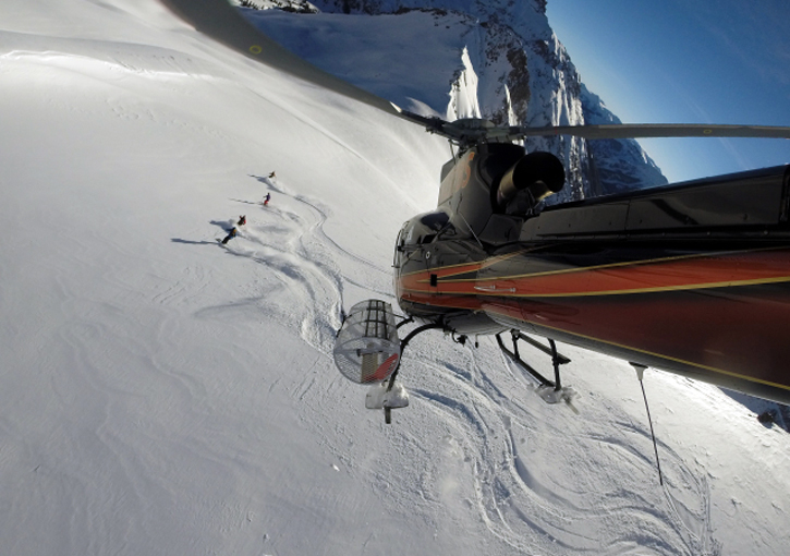 Telluride Helitrax - operates daily (subject to conditions) during winter out of Telluride Ski Resort