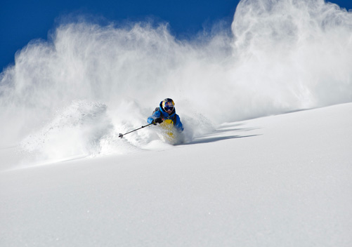 Telluride Helitrax - the San Juan ranges are famous for the cold smoke powder