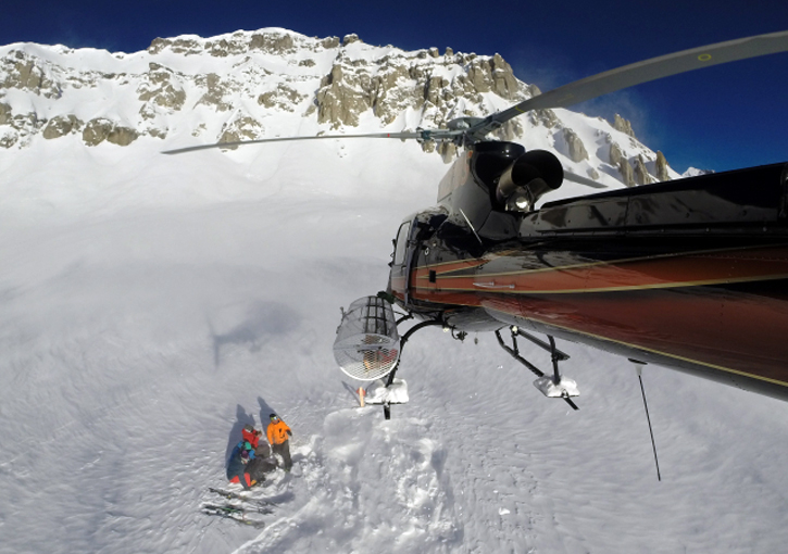 Telluride Helitrax - also offer multi-day packages with accommodation or you can DIY accommodation