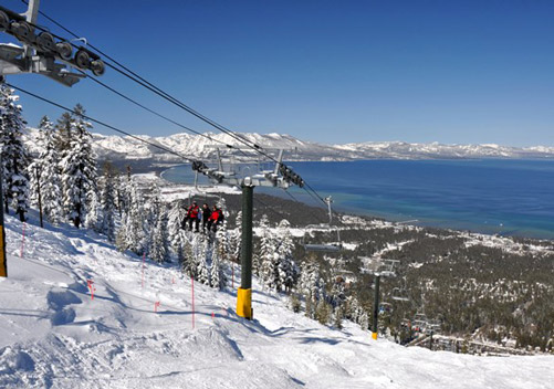 Lake Tahoe Skiing - Heavenly