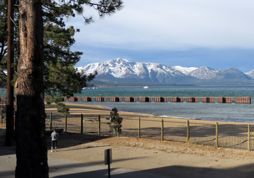 South Lake Tahoe Beach