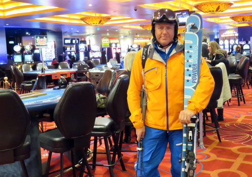 To ski or to gamble?