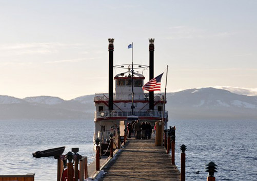 Boat cruise on Lake Tahoe