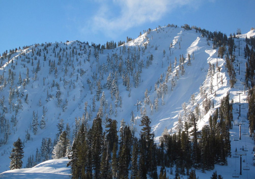 Mt Rose, one of the gnarly Lake Tahoe resorts