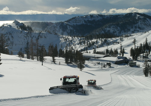 Squaw Valley Ski Resort California