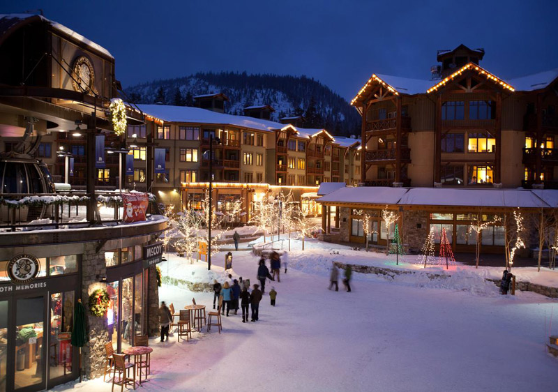 Mammoth Village has the greatest selection of lodging with direct access to the slopes via the gondola