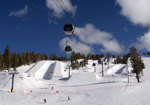Mammoth Ski Resort has great terrain parks
