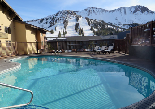 The Mammoth Mountain Inn is conveniently ski-in ski-out