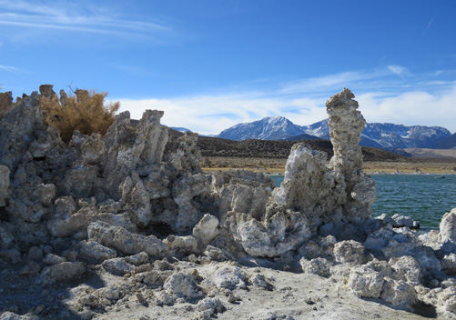 Mono Lake is nearby - South Tufa