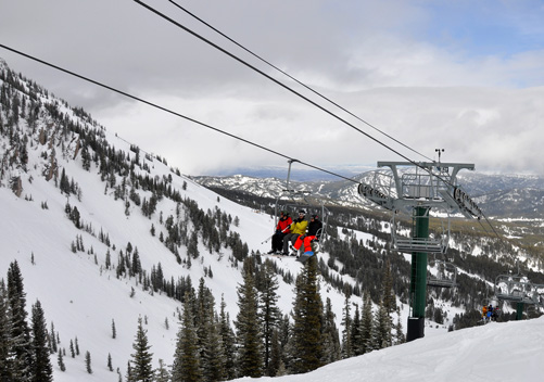 Bridger Bowl Ski Resort Montana